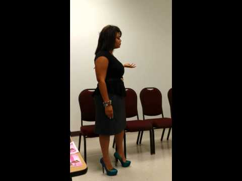 Motivational Speaking to Young Girls!