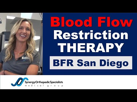 BFR - Blood Flow Restriction Therapy | Synergy Orthopedic San Diego