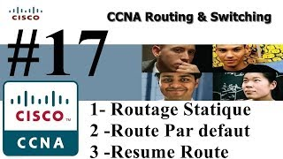 17 - Routage Statique & Route Par defaut & Resume Route (IPv4) - DARIJA