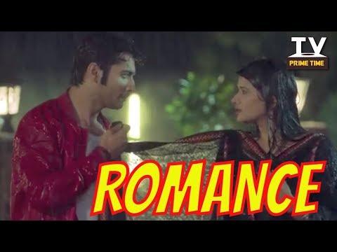 Rishi and Tanuja Rain Romance | Abhishek Jealous | Kasam | TV Prime Time