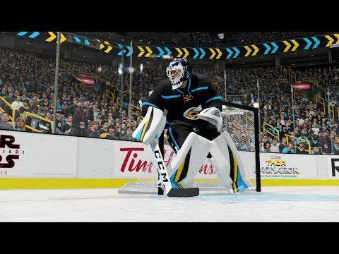 NHL 18 EASHL Goalie Tips - How to use the Standing Post Hug to make you ELITE