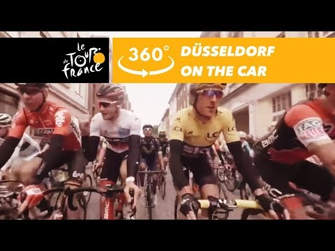 Düsseldorf's start from the car - 360° - Tour de France 2017