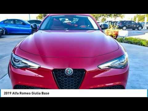 2019 Alfa Romeo Giulia Ft Worth Tx Arlington Tx Grapevine Tx