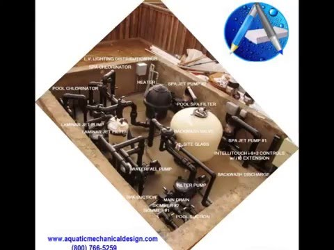 SWIMMING POOL EQUIPMENT DESIGN SHEET P-6 Equipment Pad Layout (800) 766-5259