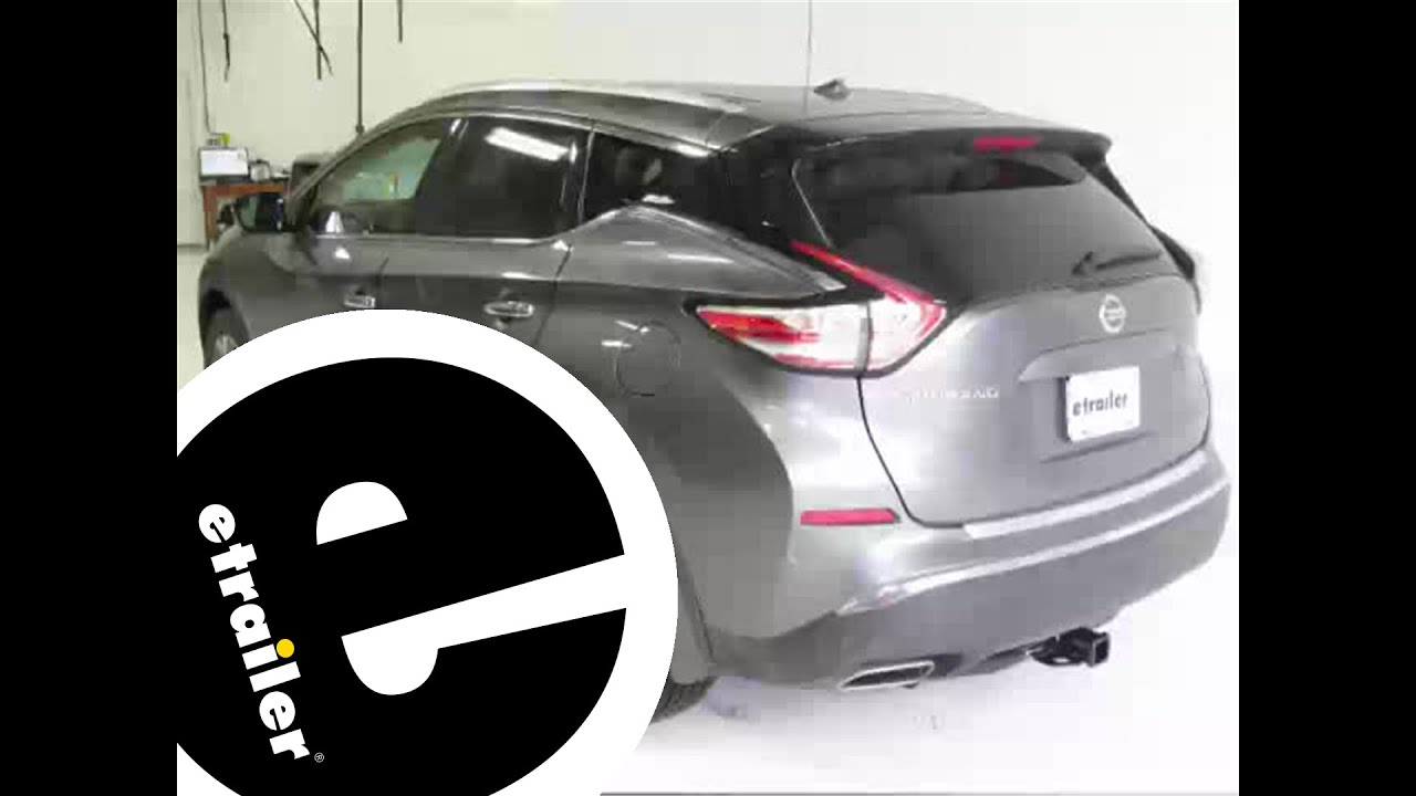 Installation of a Trailer Hitch on a 2015 Nissan Murano ...