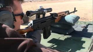 Romanian PSL-54C Designated Marksman Rifle in 7.62x54R