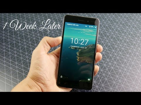 Nokia 6 - 1 Week Later Experience!