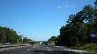 Driving South through Northern Florida, I-75 South