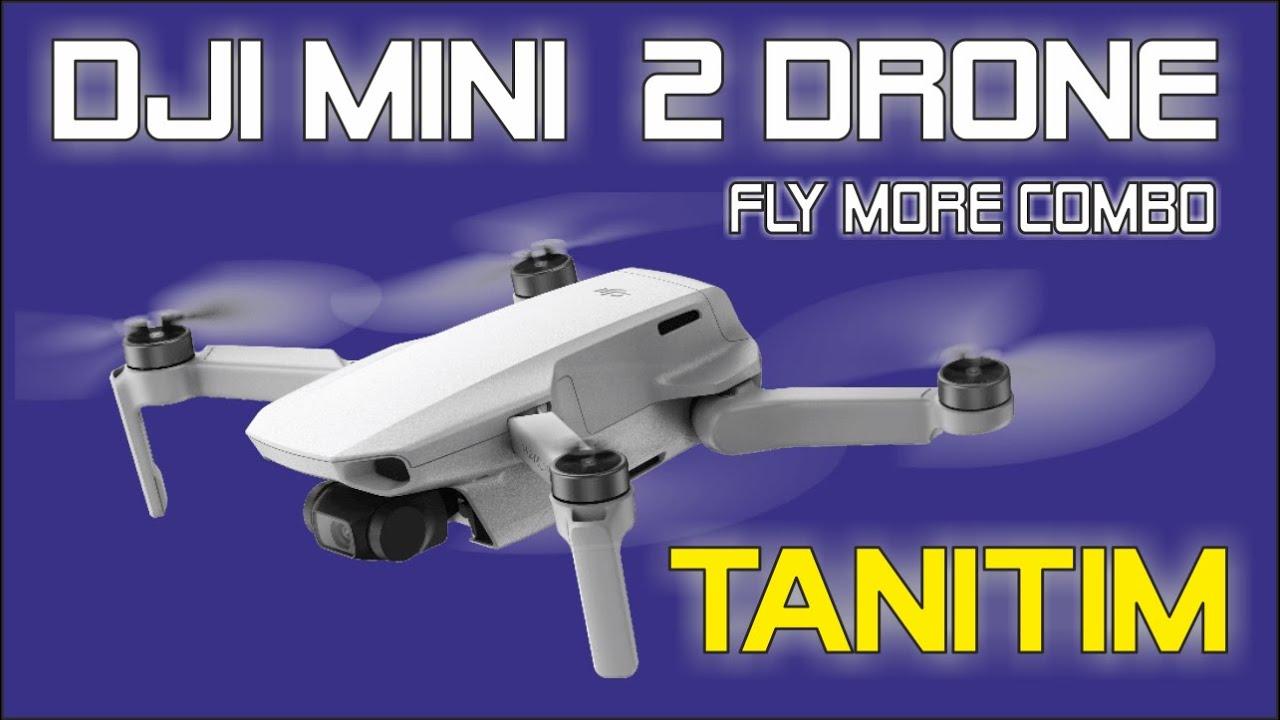 Download DJI Mini  2 DRONE Fly More Combo TANITIM / İNCELEME