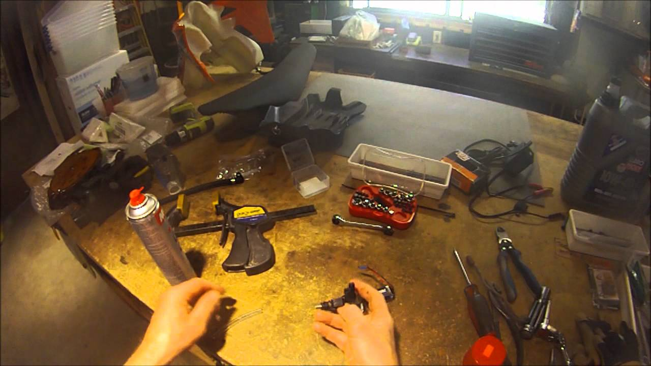 ktm easy fuel injector cleaning - youtube