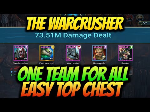 NEW UNKILLABLE WARCASTER RENEGADE & SKULLCRUSHER  THE WARCRUSHER Clan Boss GUIDE RAID SHADOW LEGENDS
