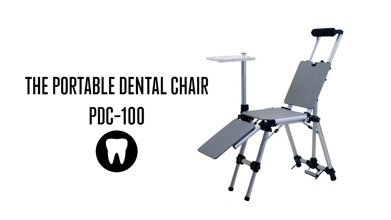 portable dental chair philippines big circle pdc 100 set up youtube