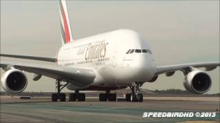 Emirates Airbus A380-861 [A6-EEO] Inaugural Flight to LAX