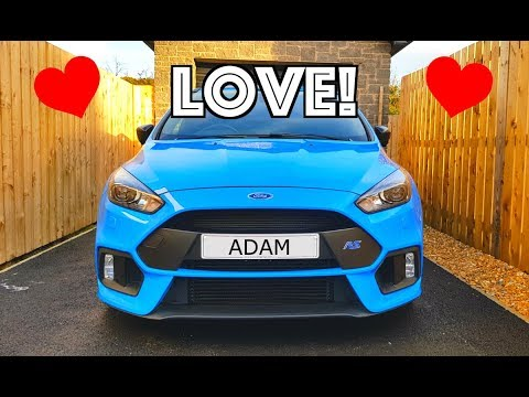 5 THINGS I LOVE ABOUT THE FORD FOCUS RS!