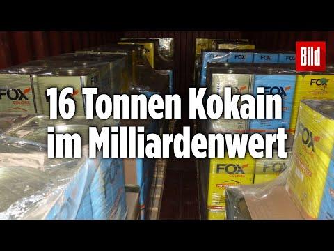 Im Hamburger Hafen: Das ist der größte Kokain-Fund Europas
