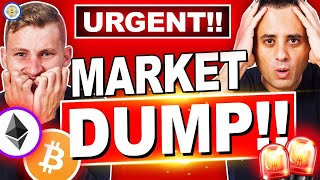 URGENT! WORST CRYPTO MARKET DUMP EVER AND 3 REASONS WHY!