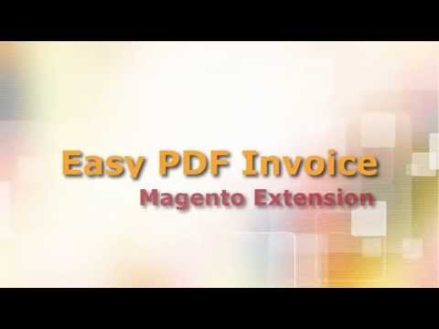 Easy PDF Invoice Getting Started