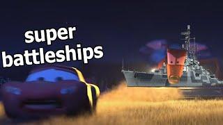 Super Battleships: Apex Predator or Damage Piñata | 441k Colbert Kraken