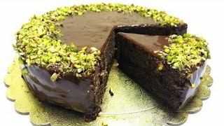 Jinsi ya kuoka keki ya chocolate tamu bila oven na kwa njia rahisi