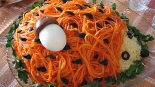 Как приготовить салат из корейской морковки в домашних условиях.(Корейская морковка. Видео рецепты кулинария. Приготовление вкусных и полезных салатов, блюд из мяса, из рыбы., 2014-01-19T16:14:28.000Z)