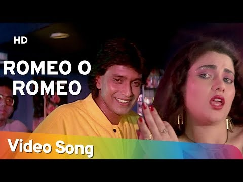 Romeo O Romeo - Mithun Chakraborty - Mandakini - Dance Dance - Bollywood Hit Songs HD- Alisha Chinoy