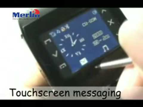 Merlin GSM Watch Phone with Bluetooth, gadgets and technology