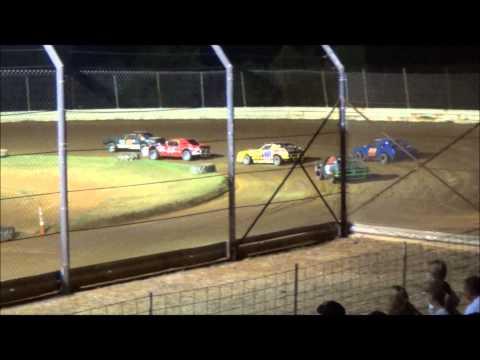 Doe Run Raceway Mini Stock Heat 9-6-13