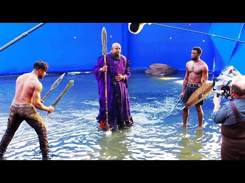 Black Panther B-roll & Bloopers - Behind The Scenes (2018).