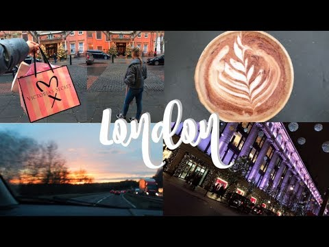 TRIP TO LONDON & CARPOOL KARAOKE WITH MY DAD! VLOG | LifewithChloe