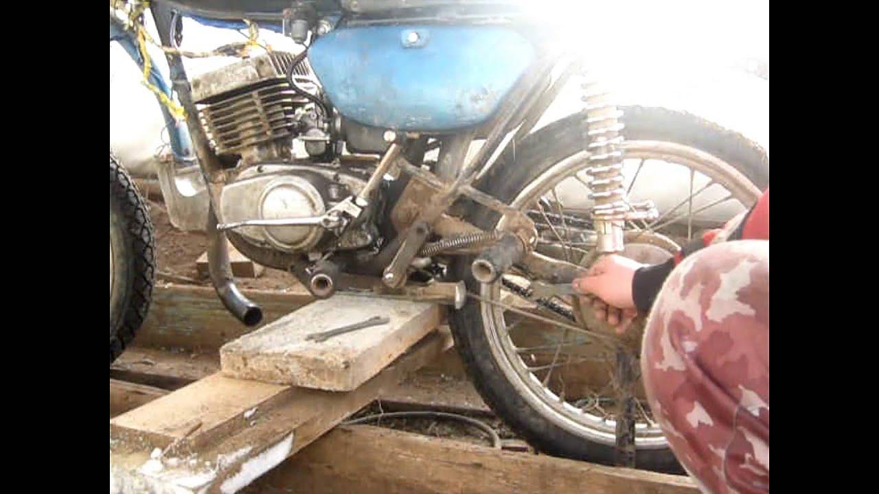 перебирать Мотоцикл Минск #5