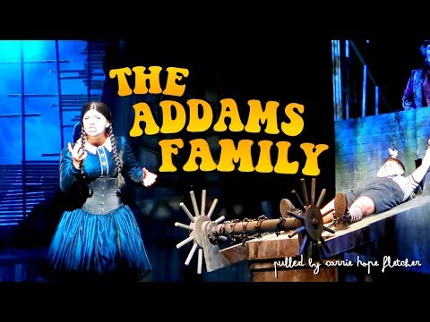 PULLED by CARRIE HOPE FLETCHER THE ADDAMS FAMILY MUSICAL // Media Preview Singapore ⚫ TheWickeRmoss