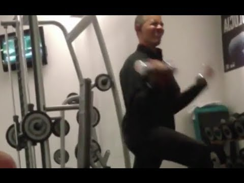 President Obama Working Out