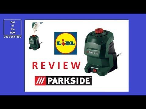REVIEW Parkside Drill Bit Sharpener PBSG 95 C3 (Lidl 3.0–12.0mm 20 sizes 95W)