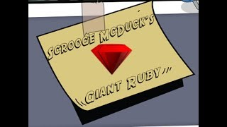 Roblox - DuckTales (Clue #1 for the Giant Ruby)