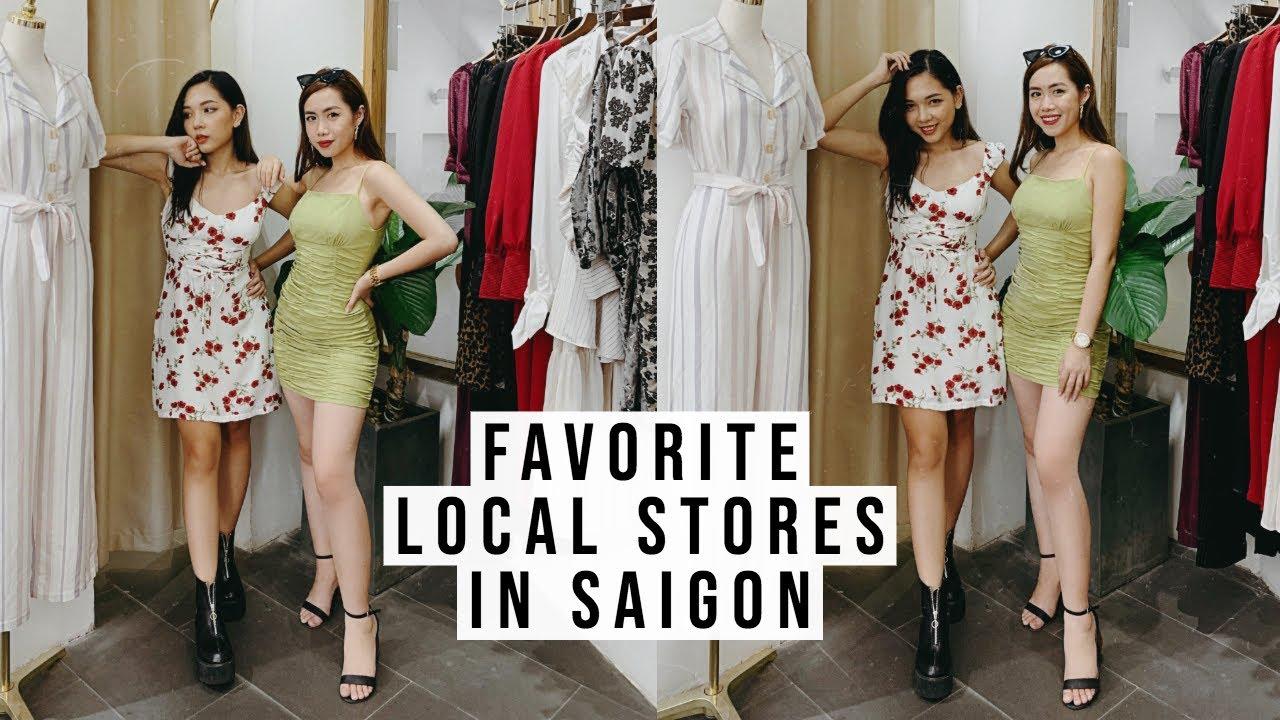 5 LOCAL BRANDS CẦN BIẾT Ở SÀI GÒN | Shopping cùng Mina & Con Thỏ ♡
