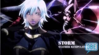 X-Men Marvel anime MTV