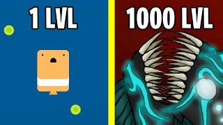 Underwater Monster Evolution! Deeeep.io New Update io Game