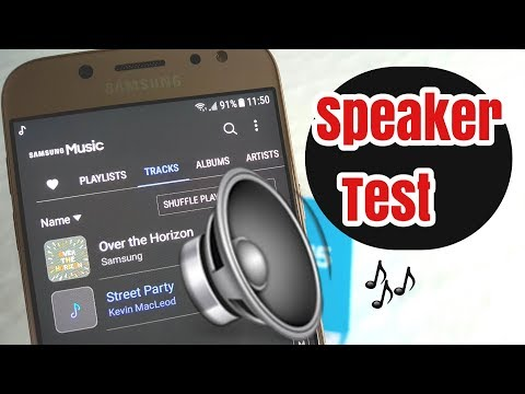 Samsung Galaxy J5 2017 Speaker Sound Quality Test