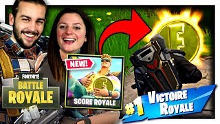 TOP 1 GRACE AUX PIÈCES ! | FORTNITE MODE SCORE ROYAL DUO FR