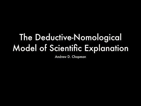 The Deductive-Nomological Model of Scientific Explanation