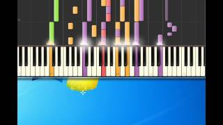 Barry Manilow   Could it be magic [Piano tutorial by Synthesia]