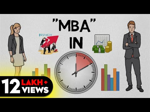"""MBA"" IN 10 MINUTES (HINDI) - ANIMATED BOOK SUMMARY"