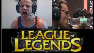 lEAGUE IS TRASH!! ft.Tyler1 | LLStylish TROLLED BY HIS GF | lol stream highlights