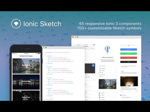 Free Ionic Sketch Template