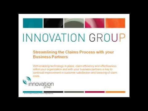 Streamlining the Claims Process with your Business Partners