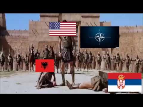 1999 war for Kosovo funny animation