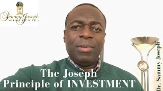 Moderation Availed series, Pt. 7 | 'The Joseph Principle of Investment' | Dr. Sammy Joseph