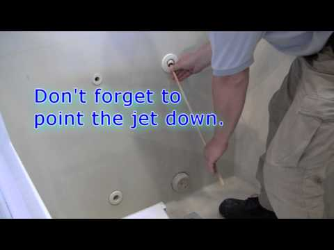 Baptismal Pool Filling Instructions
