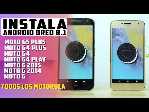 INSTALA Android 8.1 OREO para todos los Moto G | Tecnocat