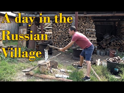 A Day in the Russian Countryside - Lets See What its Like